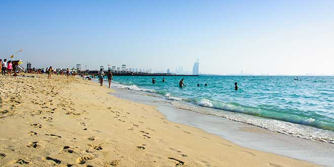Dubaj TOP10 Kite Beach