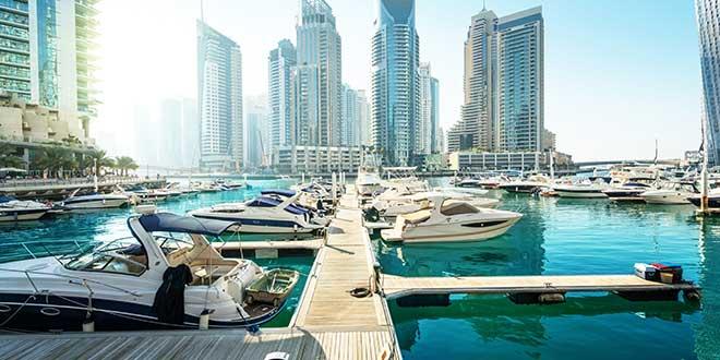 Dubaj TOP10 Marina