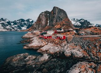 norwegia-samochod